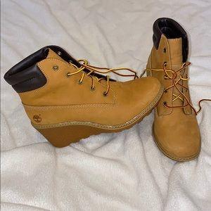 timberland wedge shoe